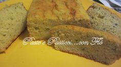 Plum cake salato con zucchine genovesi