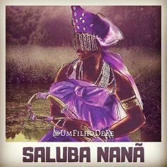 Saluba Nanã, salve a força do conhecimento, da ancestralidade! Wicca, Santa Anna, Mythology, Princess Zelda, Movie Posters, Fictional Characters, Archangel Gabriel, Archangel Michael, Baby At Beach