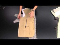 How to Canvas the Suit Coat Front: Part One - YouTube