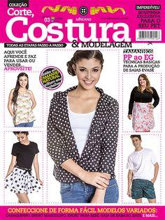 Artesanato - Tecidos - Corte Costura : CORTE COSTURA E MODELAGEM 003 - Editora Minuano