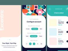 Outfitr: A UI kit for fashion apps - Freebiesbug Ui Ux Design, Interface Design, User Interface, Graphic Design, Fashion Apps, Ui Animation, Box Mockup, Ui Web, Ui Inspiration