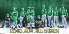 We were excited to help out the 2013 AUM District 5 Baseball All-Stars with a custom baseball banner design for the team to hang at the fields to show off their all-stars.  The design featured all the players in various poses in team colors to bring the idea to life.  Good luck guys in your championship quest in the state tournament!  Still wanting to set your team apart from the rest of the pack at the fields?  Show your support for your team with a custom team banner!