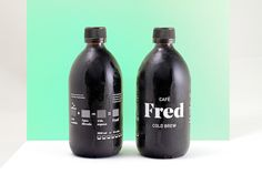 Cafè Fred Cold Brew on Packaging of the World - Creative Package Design Gallery