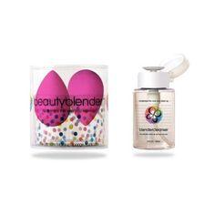 Beautyblender 2 + Blendercleanser Combo, The Ultimate MakeUp Sponge Applicator + Cleanser $39.95