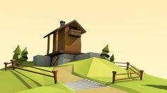 Blender tutorial: My first lowpoly scene (part 1) on Vimeo