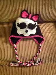 monster high crochet hat - Buscar con Google