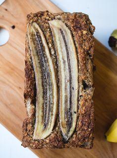 5-ingredient GF/V banana bread