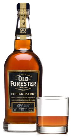 Old Forester Single Barrel Bourbon is crafted using 140 year-old techniques. Hand selected by our Master Taster, Single Barrel is unique and flavorful. Whiskey Trail, Bourbon Whiskey, Whisky, Single Barrel Bourbon, Vodka Tequila, Wine And Spirits, Whiskey Bottle, Liquor, Brewing