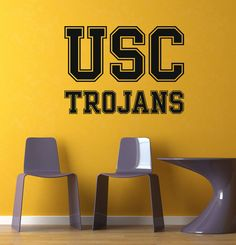 NCAA  USC Trojans Decal Wall Mural Vinyl Sticker Sport Decal DA - 3360