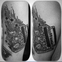 Tattoo by @tubiengipsyheart #blackworkers #tattoo #bw #blackwork #blacktattoo