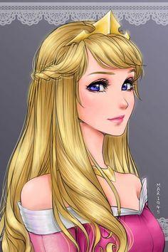 Princesas-Disney-como-Animes-(5)