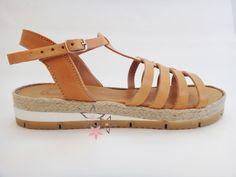 Artemis Stripes Sandals / Genuine Greek High Quality by Twininas