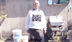 QR Code Granny   Clevere & lustige Werbung für Agentur aus Kroatien