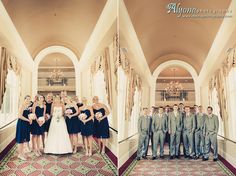 Lia + Wes held their wedding reception at the DoubleTree Charleston Historic District!
