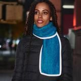 MO-SCARF, Turqouise – Vespertine NYC Garment District, Party Hacks, Hot Pink, Nyc, Plaid, Turquoise, Yellow, Purple, How To Wear