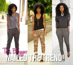8 Rockin' Joggers We Love PLUS How To Wear The Trend! - Style Scoop - Daily Fashion, Beauty and LifeStyle Blog