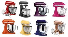 Which is your favorite KitchenAid Mixer?  I love them all! http://Kitchenaid-stand-mixer.2014bestdealsonline.com/
