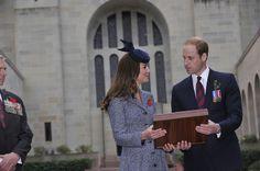 Day nineteen: The Duke and Duchess of Cambridge mark ANZAC Day