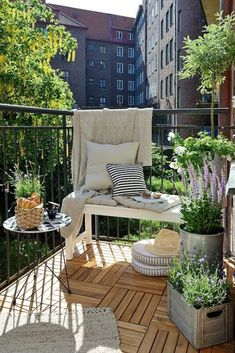 These 14 Balcony Gardens Have Us Ready for Spring | Brit + Co