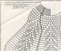 3 gráficos del punto de la falda son de diferentes trabajos pero nada más es que explicativo para poder hacer el punto vale.        ...