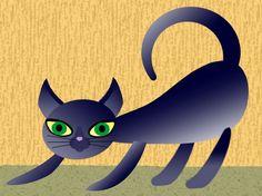 Little cat Art Prints by Jaclyn LaRosa