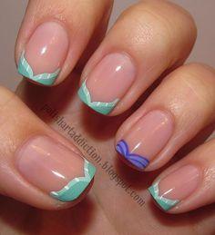 Ariel nail art...cough cough...Grace Knight.