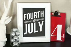eighteen25: Simple Fourth of July Art