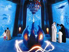 Atlantis Hotel, Dubai Palms Hotel, Palm Jumeirah, Abu Dhabi, Atlantis, Dubai, Past, Aquarium, Places To Visit, Around The Worlds