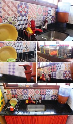 20 truques simples de decoração para transformar sua casa - Dicas de Mulher Mexican Designs, Home And Deco, House 2, New Years Eve Party, Kitchen Accessories, Diy And Crafts, Sweet Home, Indoor, House Design