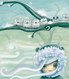 'The Owl Tree' by diablata