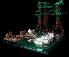 Hi, I worked on a MOC for a SeTechnic.com contest. The contest is about Dagobah so it was obvious to use Yoda and A Xwing! I would like to be accurate on c...
