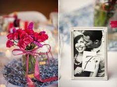 Wedding table number idea