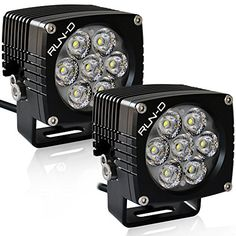 RUN-D 2x35W off road lights 3'' spot CREE LED driving lights LED work light bar 5600lm/pair for off-road truck SUV ATV boat moto 4x4 Jeep lamp cube LED pods