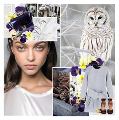 """""""My bones are ice"""" by floralbeauteous ❤ liked on Polyvore featuring Masquerade, DaBaGirl, MSGM, Givenchy, Bobbi Brown Cosmetics, Jennifer Meyer Jewelry and Lagos"""