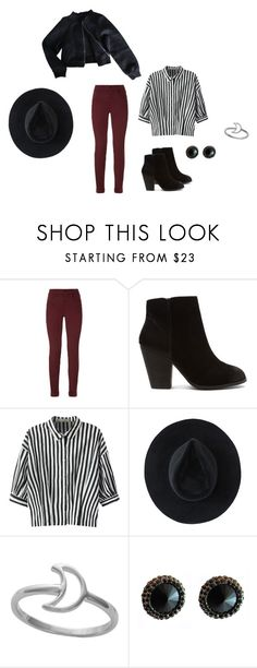 """Street Style"" by rebellious-ingenue ❤ liked on Polyvore featuring J Brand, Report, Relaxfeel, Ryan Roche and Midsummer Star"