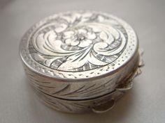 antique pill box
