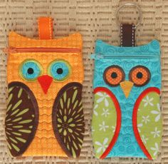 Owl Zippered Cases PDF $8