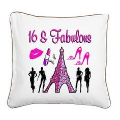#SuperSweet16 #Happy16thBirthday #Sweet16 #16BIRTHDAYGIFTS Lots of great Sweet 16 and Happy 16th Birthday decorating and gifts ideas. Please visit www.cafepress.com/jlporiginals for lots of great Birthday gifts.