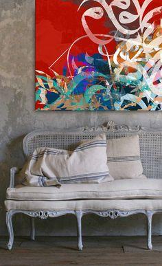 """""""Peace""""  Artwork by artist Khalid Shahin"""