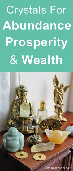 7 Crystals For Abundance, Prosperity and Wealth. Learn how to manifest money with crystals and the law of attraction...