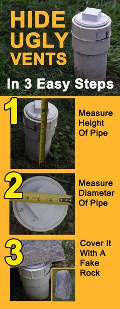 Simple Steps To Hide The Ugly Septic Tank In Your Yard