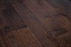 Darker color hardwood floors tend to give or create an elegance ambiance. Engineered Hand Scrape Hardwood Flooring. www.GlamourFlooringLA.com Hand Scraped Hardwood, Hardwood Floors, Flooring, Lofts, Dark Colors, New Homes, Glamour, Living Room, Create