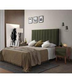 Comprar online Cabecero tapizado con plafones vertical modelo LINEN VERTICAL Ideas, Bed, Furniture, Home Decor, Templates, Upholstered Headboards, Flush Mount Lighting, Headboards, Yurts