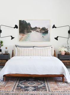 Guest Bedroom Makeover - Little Green Notebook