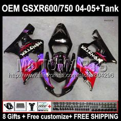 Checkout this new stunning item   8gifts+Tank Red black OEM For SUZUKI K4 GSXR600 GSXR 750 600 2004 2005 35#244 GSXR750  NEW Red blk  R750 GSX R600 04 05 Fairings - US $451.00 http://proautomoto.com/products/8giftstank-red-black-oem-for-suzuki-k4-gsxr600-gsxr-750-600-2004-2005-35244-gsxr750-new-red-blk-r750-gsx-r600-04-05-fairings/