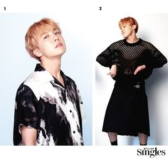 J-Hope ❤ BTS Behind the Scene for Singles Magazine January 2017 Issue #BTS #방탄소년단