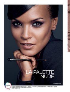 ''La Palette Nude'' - A masterpiece by L'Oréal Paris / Model: Liya Kebede Love Makeup, Makeup Tips, Beauty Makeup, Hair Makeup, Hair Beauty, Makeup Ideas, Liya Kebede, African American Beauty, African Beauty