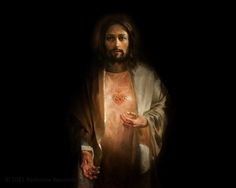 """douayrheims: """" (via Et Verbum: Jesus Christ the king of our hearts: elevations on the most Sacred Heart of Jesus Part """" In vain do artists strive to reproduce in painting the sweet majesty of. Religious Pictures, Jesus Pictures, Religious Icons, Religious Art, Cross Pictures, Jesus Christ Images, Jesus Art, Heart Of Jesus, My Jesus"""