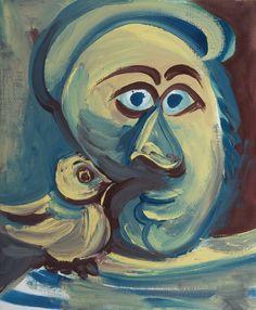 Pablo Picasso | Tete a L'oiseau 1971 | Sotheby's