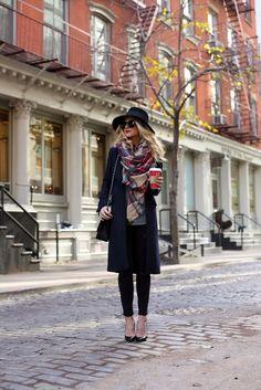 Atlantic Pacific / tartan // #Fashion, #FashionBlog, #FashionBlogger, #Ootd, #OutfitOfTheDay, #Style